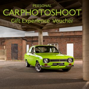 Personal Car Photoshoot Gift Experience Voucher